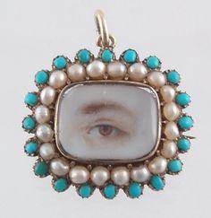 Georgian eye jewelry