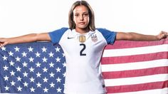 Eighteen-year-old Mallory Pugh is a Colorado-born member of the U.S. women's soccer team. Additional images below.