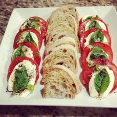 Caprese Salad with Aged Balsamic