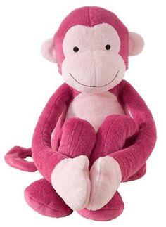 Lambs & Ivy Lollipop Jungle Plush, Pink Monkey $10.86