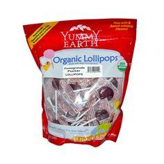 Yummy Earth Organic Pomegranate Pucker Lollipops (1x12.3 Oz)