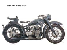 BMW R12 Army 1938