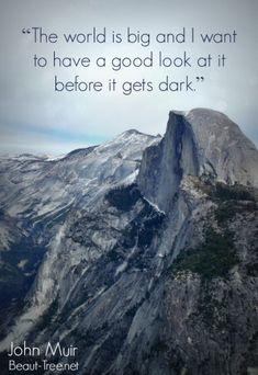 70 New Ideas Nature Quotes Adventure Life John Muir