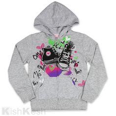 Girls Zip Hoodie #Sweater #Fall #Clothing