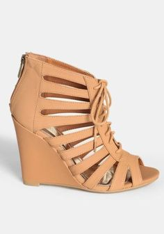 f8a9092b9 Pachuca Lace-Up Wedges #SandalsHeels Heeled Boots, Shoes Heels Boots, Lace  Up