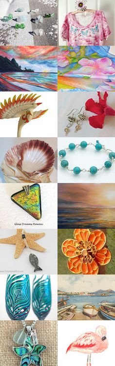 Let's go Tropical  - SOTW Integrity by Nancy Swantek on Etsy--Pinned with TreasuryPin.com