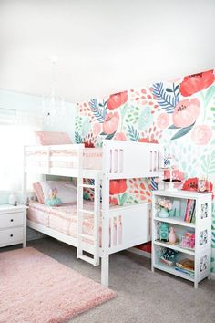 34 Nothing Discovered For Baby Room Ideas That Arent Pink And Blue Living Room Carpet, Bedroom Carpet, Bedroom Bed, Kids Bedroom, Bedroom Decor, Design Bedroom, Bedroom Ideas, Nursery Decor, Modern Girls Rooms