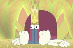 Double King is a brilliant and very strange animation short film imagined by Felix Colgrave.