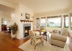 Cedar Bluff - traditional - living room - boston - Siemasko + Verbridge