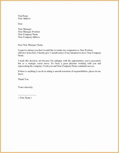 sample of resignation letters from jobs Professional Resignation Letter. Formal Resignation Letter Sample, Employee Resignation Letter, How To Write A Resignation Letter, Professional Resignation Letter, Resignation Template, Resignation Form, Letter Writing, Job Application Cover Letter, Job Cover Letter