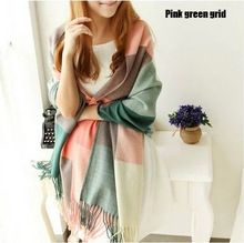 Cheap plaid scarf, Buy Quality tassel scarf directly from China shawl scarf Suppliers: New winter Cool Thickening Casual Plaid Scarf autumn Women Shawl Scarf Warm Female Cashmere Pashmina cachecol tassels Scarves Glands, Cashmere Pashmina, Tartan Scarf, Checked Scarf, Pink Gingham, Casual, Long Scarf, Neck Scarves, Types Of Fashion Styles