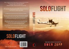 Solo Flight. Design an awesome book cover that captures the adventure of flight. by Ravastra Design