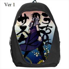 Sasuke, Backpack, Naruto, Schoolbag, Anime, Manga, School, Bag, Back Pack, Anime Bag, Anime Schoolbag, Anime Backpack, Anime School Bag