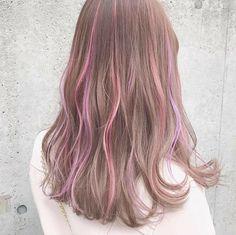This base colour Hair Color Streaks, Hair Dye Colors, Cool Hair Color, Hair Inspo, Hair Inspiration, Hair Color Underneath, Korean Hair Color, Dye My Hair, Aesthetic Hair