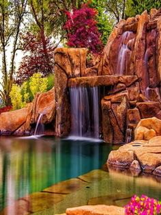 I could sit by this backyard pool for hours and listen to this waterfall. Florida Vacation, Vacation Spots, Tampa Florida, Tampa Bay, Florida Trips, Florida Beaches, Dream Vacations, Beautiful World, Beautiful Places