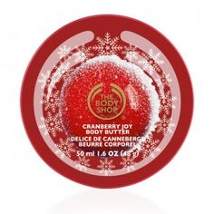 The Body Shop - Frosted Cranberry Mini Body Butter