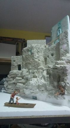 1 million+ Stunning Free Images to Use Anywhere Christmas Villages, Christmas Nativity, Christmas Crafts For Kids, Christmas Diy, Fake Rock Wall, Model Castle, Perspective Sketch, Free To Use Images, Winter Painting