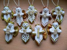 Angels made of pasta instructions (fun for older kids) ~ brydova.cz
