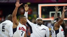 Team USA started their bench in the 2nd half and ran away against Tunisia 110-63. #Olympics