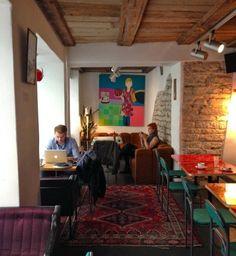 Cafe Must Puudel in Tallinn, Estonia.  www.thisoffscriptlife.com  #tallinn #estonia #expat #expatlife #baltics #mustpuudel