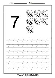 Worksheet for Kindergarten Numbers - Worksheet for Kindergarten Numbers , Count and Match 6 Through Worksheets Numbers 1 School Education.number Worksheets for Kindergarten Preschool Charts, Number Worksheets Kindergarten, Letter Tracing Worksheets, Printable Preschool Worksheets, Preschool Writing, Numbers Preschool, Learning Numbers, Number Tracing, Science Worksheets