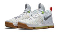san francisco 01786 26061 Nike Kevin Durant KD 9 Summer Pack Multicolor Metallic Silver 843392 900  Size US 13 Soccer