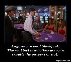 And in casinos, drinks are free!