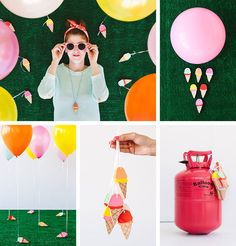 We celebrated #NationalIceCreamDay with DIY IceCream Cone Balloon Weights. How did you celebrate?