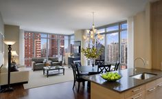 The pretty interior of the Azure condos in NYC developed by the Mattone Group, LLC. http://www.azureny.com/press.html #Azure #MattoneGroup #CarlMattone #RealEstate