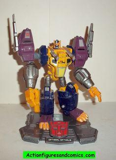 Transformers Titanium OPTIMAL OPTIMUS PRIME beast wars primal beast wars complete die cast 6 inch series