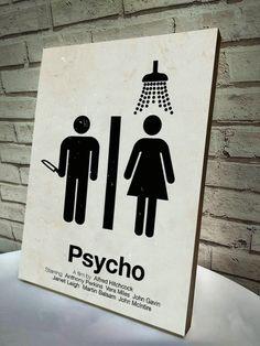 Poster / Quadro A4 Psycho