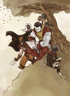 Classic x-men by Hendra Adriyasa