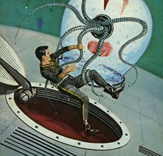 Ed Valigursky - The Dark Destroyers / The Science Fiction Gallery