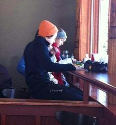 Haylor in Utah today... :'(