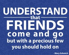Understand that friends come and go but with a precious few you should hold on - Day 7 Especially when it comes to being Artist/Advocate/Survivor Sunscreen Song, Wear Sunscreen, Typographic Poster, Typography, Friends Come And Go, All Quotes, Friends Forever, 30 Day, Friendship Quotes