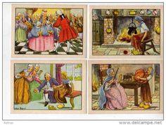 IMAGES CENDRILLON BON POINT ECOLE Illustrateur CALVET ROGNIAT - Delcampe.net
