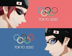 Free!! Iwatobi Swim Club summer Olympics 2020 Japan
