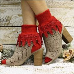 dfa5438d5 red sexy socks - valentine s day socks red Lace Socks
