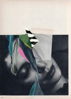 """Charles Wilkin; Paper, 2013, Assemblage / Collage """"Also Known As"""" 11x 8"""
