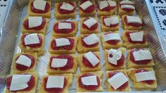 Polentine, ovvero pizzettine di polenta