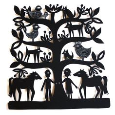 Sue Codee - Alexandria_s Tree papercut 28 x 28 cm 10 x 10 in Western Australia, Paper Cutting, Contemporary Art, Art Gallery, Carving, Fine Art, Family Trees, Artist, Artwork
