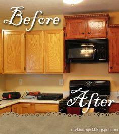 Kitchen Cabinets redo