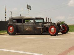 rat rods | This 1930 Model A Rat Rod was completely hand built by 19year old Brad ...