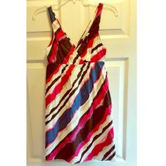 NWT striped sundress Stripe pattern sundress from Old Navy! Super cute for spring & summer! Old Navy Dresses Mini