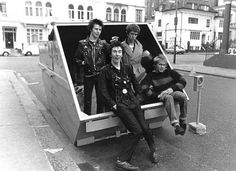 The Sex Pistols, by Janette Beckmam