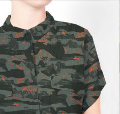 ODDstyles Pattern | Camouflage Flower