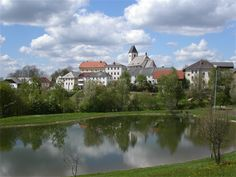 Badeteich Grünbach Central Europe, Homeland, Austria, Mansions, Country, House Styles, Water Pond, Bathing, Manor Houses