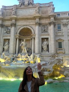 Trevi Fountain, Rome, Italy: http://peachesncreme.org/2015/12/05/pnc-travels-radiant-rome/