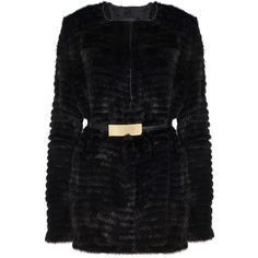ELIE SAAB Mink Short Fur Coat ($10,902) ❤ liked on Polyvore