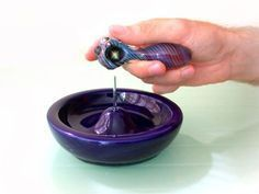 The Kashtray is an ashtray made specifically for people who smoke weed. The ceramic base is easy to clean and the metal cleaning pin effectively cleans out even the most stubborn ash. Ten stoner gifts at: http://blog.kashtray.com/2012/10/ten-stoner-gifts-under-20.html